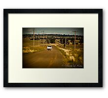 Power to Parkes Framed Print