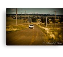 Power to Parkes Canvas Print