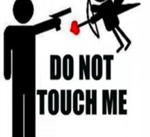 Cupid - Don't touch me Sticker