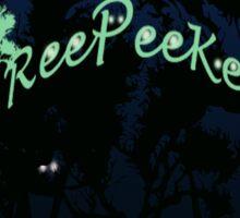 TreePeekers 6 Sticker