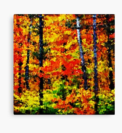 Autumn Afternoon #2 Canvas Print