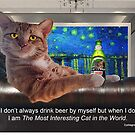 The Most Interesting Cat by EyeMagined