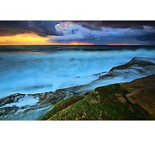 Stormy Sunrise Photographic Print
