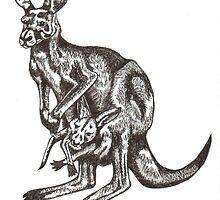 Kangaroo by AnimalDreaming