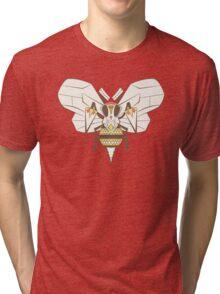 Beedrill Pokemuerto   Pokemon & Day of The Dead Mashup Tri-blend T-Shirt