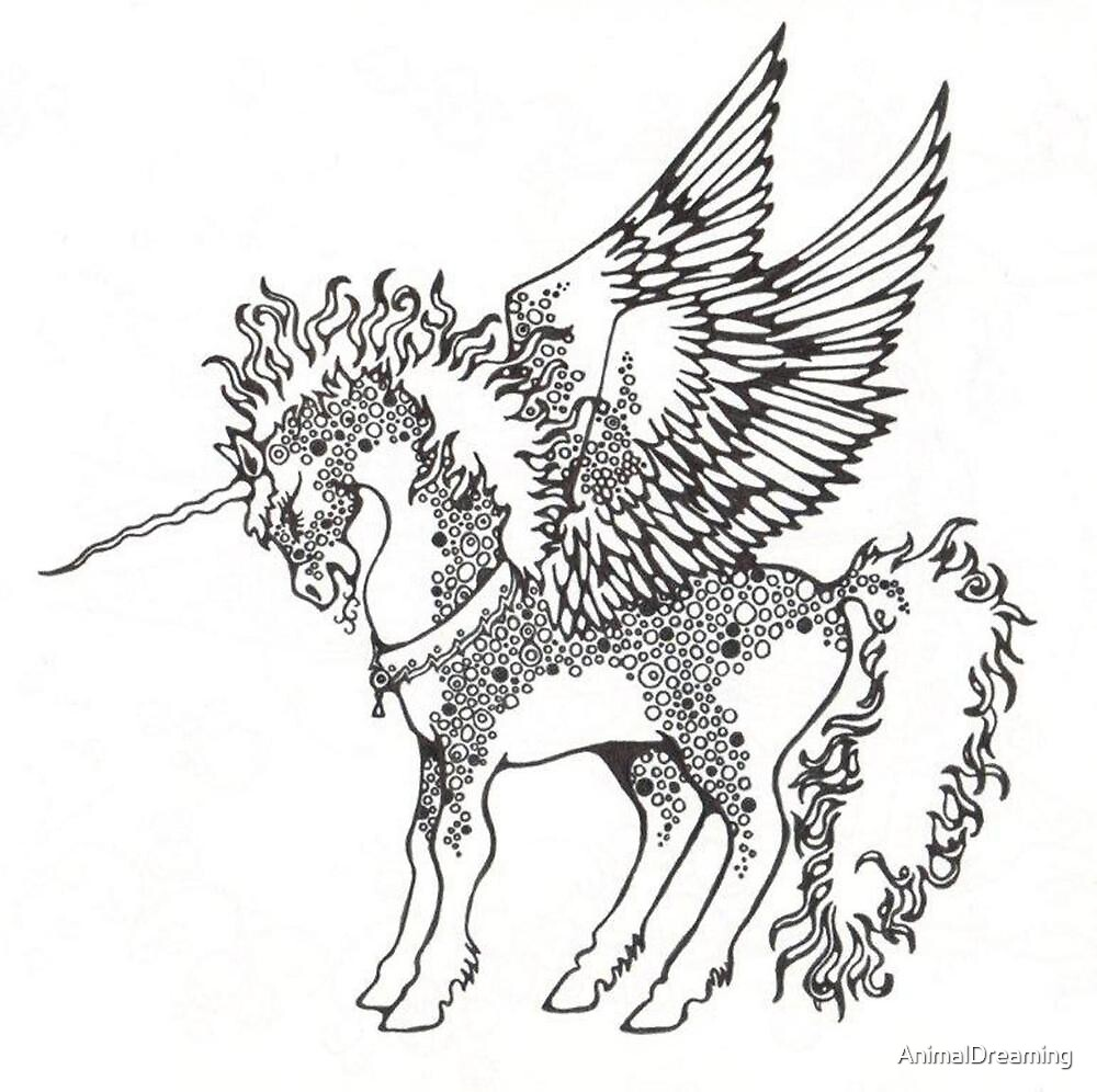 The Air Unicorn by AnimalDreaming