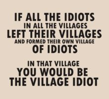Village Idiot by kayumite