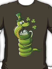 Saint Patrick's Day Snake T-Shirt