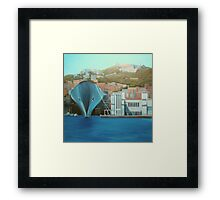 "Napoli  ""a moda mio"" Framed Print"
