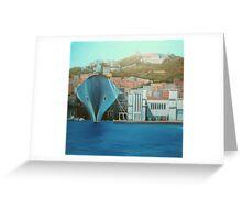 "Napoli  ""a moda mio"" Greeting Card"
