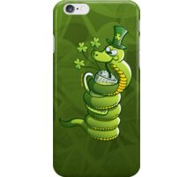 Saint Patrick's Day Snake iPhone Case/Skin