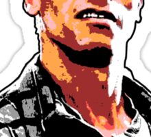 Sue me. (Arnold Schwarzenegger) Sticker