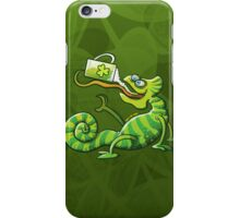 Saint Patrick's Day Chameleon iPhone Case/Skin