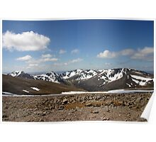 Across the Lairig, Cairngorm & Monadhliath Poster
