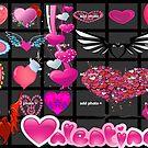 love hearts..... by briony heath