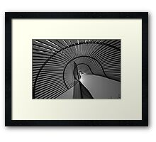 Reality bends Framed Print
