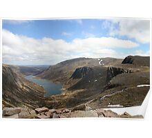 Crag bound Loch Avon, Cairngorm & Monadhliath Poster