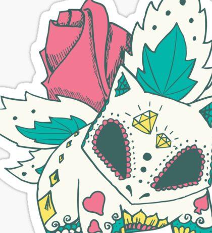 Ivysaur Pokemuerto Sticker