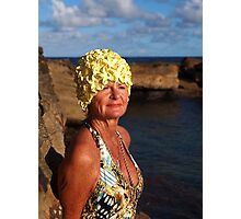 Barb the Bathing Beauty! Photographic Print