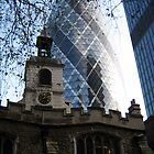 St. Helen's, Bishopsgate, London by staunto