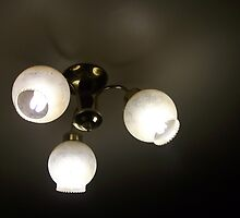 Dining room light by Caitlin Dickman