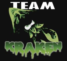 Team KRAKEN (Green) Kids Tee