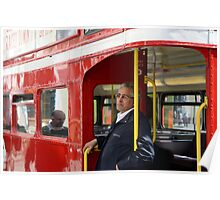 Routemaster Conductor Poster