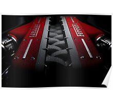Ferrari FF Engine Poster