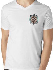 Turtle Mens V-Neck T-Shirt