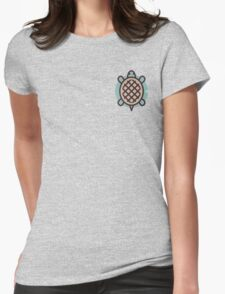 Turtle Womens Fitted T-Shirt