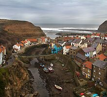 Staithes View by Theresa Elvin