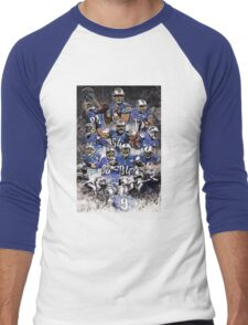 Detroit Lions 2015  Men's Baseball ¾ T-Shirt