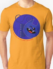 CAT BLUE 1 Unisex T-Shirt
