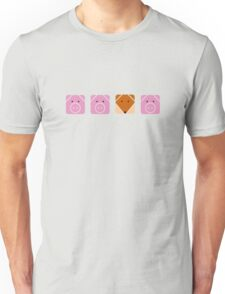 3 little pigs  Unisex T-Shirt