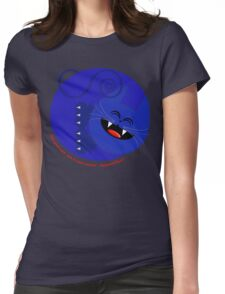 CAT BLUE 2 Womens Fitted T-Shirt