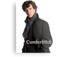 Cumberbitch Metal Print