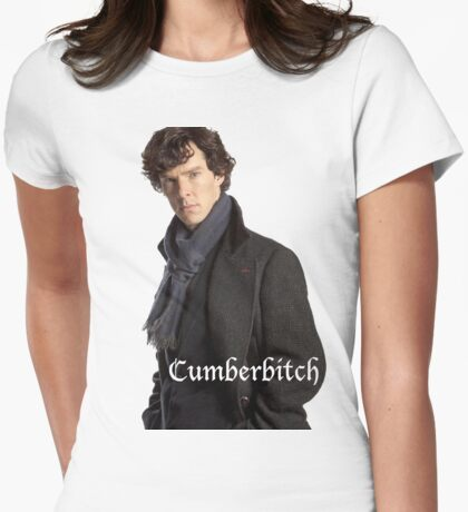 Cumberbitch Womens Fitted T-Shirt