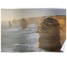 12 Apostles Early Dusk Poster