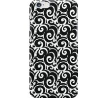Curves Pattern iPhone Case/Skin