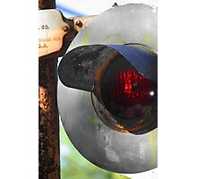 Red Light Photographic Print