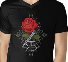 RumBelle. Mens V-Neck T-Shirt