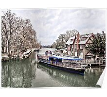 Thames, Oxford 1 Poster