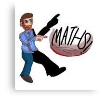 Dave Gorman - Maths! Canvas Print
