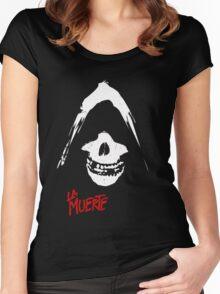 La Muerte Women's Fitted Scoop T-Shirt