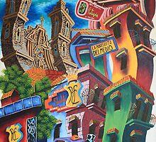 Habana Vieja by paintingcuba