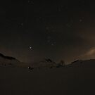 Night ski touring by BenjFavrat