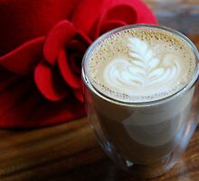 My lovely Latte by Marjorie Wallace
