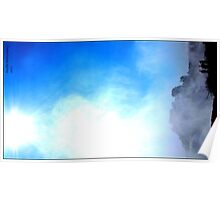 Mist over Vic falls Poster