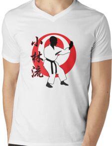 Shorin Ryu Mens V-Neck T-Shirt