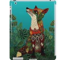 floral fox iPad Case/Skin